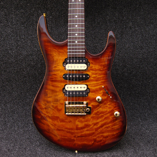 Modern Standard Sunburst Mahogany Body Quilted Maple Top Suhr Electric Guitar