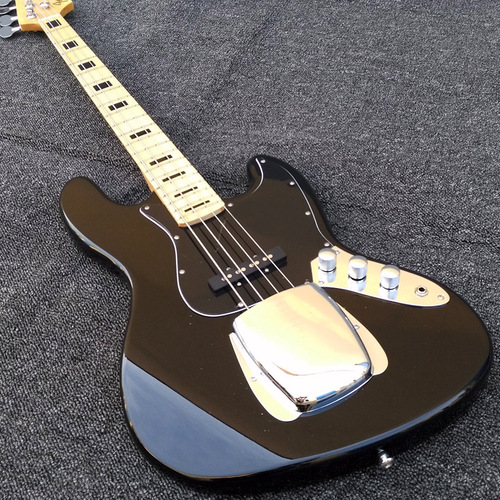 Tony Franklin Black Precison Jazz 4 string Fender Electric Bass