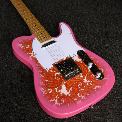 Limited Edition Classic Series Pink Paisley Vintage 60 Telecaster Electric Guitar
