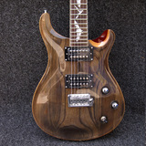 Custom 24 Swamp Ash Top Trans Grey Bat Inlay PRS Electric Guitar