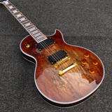 Tabacco Spalted Maple Top Lespaul Electric Guitar