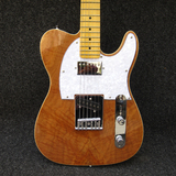CHIDER Flame Koa Top Clear HS Telecaster Electric Guitar