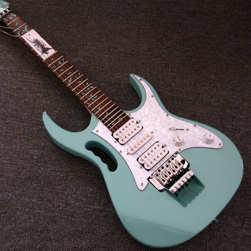 Surf Green Ibanez Jem 7V Steve Vai Electric Guitar
