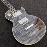 Black Water Flame Maple Top Lespaul Electric Guitar