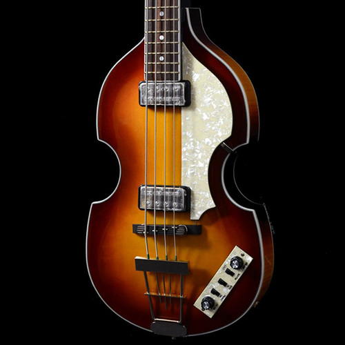 HCT 500-1 Contemporary Sunburst 4 String Violin Hofner Electric Bass