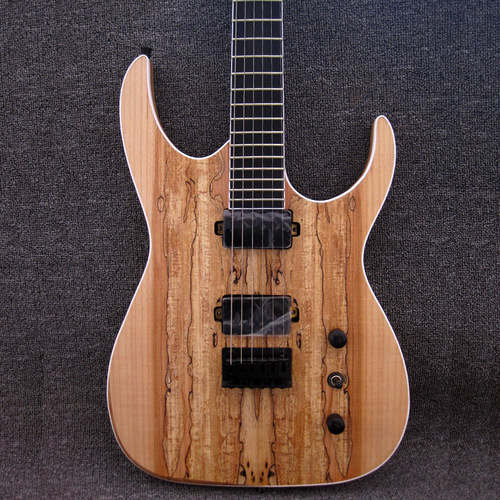 Black Machine B6 Swamp Ash Body Spalted Maple HH Electric Guitar